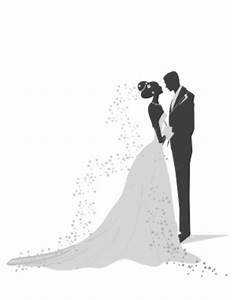 vintage bride and groom silhouette - Google Search ...