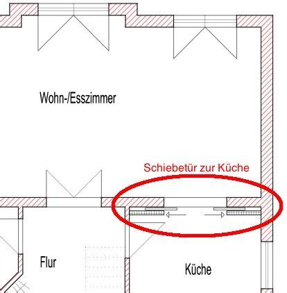 Glasschiebetür Für Küche by F 252 R Den Grundriss Einer K 252 Che Mit Kochinsel Ist Besonders