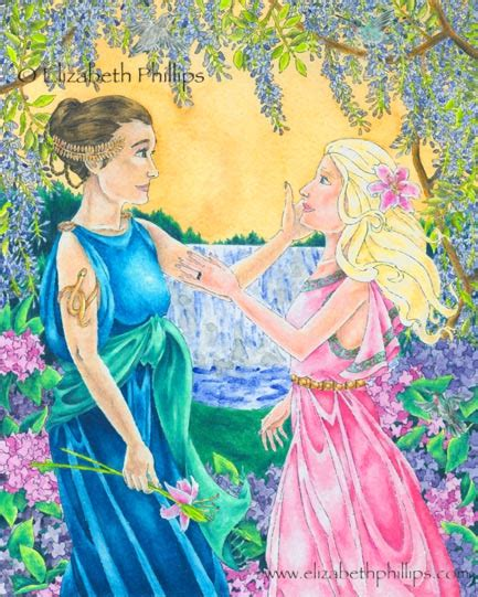Persephone and Demeter Together
