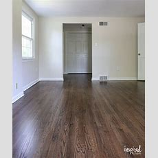 My Refinished Hardwood Floors (dark Walnut Stain
