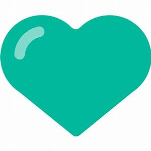 Green Heart Emoji for Facebook, Email & SMS