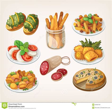 illustration cuisine food and meals stock vector image 50900195