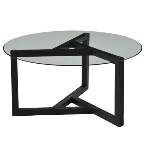 The plinksy glass coffee table features a metal support (available in three finishes) which unwinds itself under the tempered glass turning round till reaching the very top in an original and safe hooking. KAWELL Round Glass Coffee Table Modern Cocktail Table Easy Assembly Sofa Table for Living Room ...