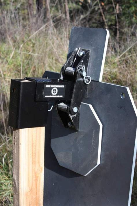 rogue shooting targets  zone stand steel targets shooting targets steel shooting targets