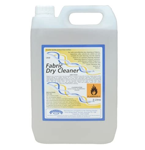 Upholstery Safe Cleaning Solvent by Craftex Fabric Cleaner Click Cleaning Uk