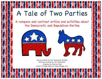 democrats  republican politics comparecontrast article