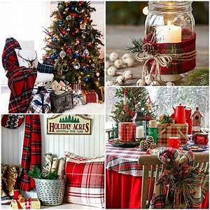 Mad About Plaid Christmas Style Series The Happy Housie