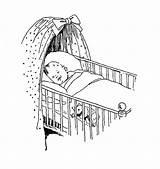 Crib Sleeping Drawing Sketch Cot Digital Stamp Drawings Coloring Babies Stamps Digi Bear Face Sketches Cribs Teddy Paintingvalley Getdrawings Adorable sketch template