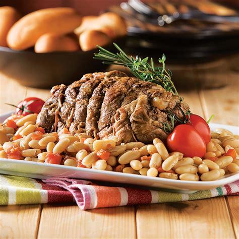 agneau cuisine gigot d 39 agneau au romarin pour mijoteuse recettes