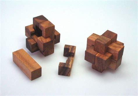 Puzzle Le Anleitung Holzwürfel Stick G117 3d Puzzle Denkspiel