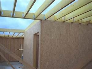 Plancher Bois Etage : plancher d 39 tage construction d 39 une maison en bois ~ Premium-room.com Idées de Décoration