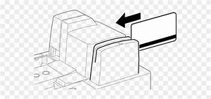 Diagram Of Magnetic Ink Character Reader Clipart   4478208