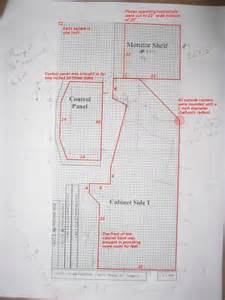 plans for mame cabinet pdf plans plan for bathroom cabinet