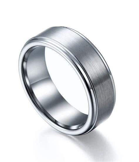 tungsten carbide mens wedding rings mens tungsten carbide wedding bands classic mens tungsten wedding bands wedding and bridal