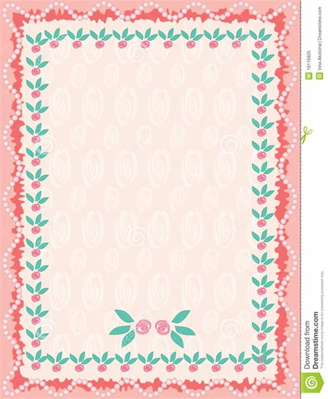 birthday cute background  roses royalty  stock