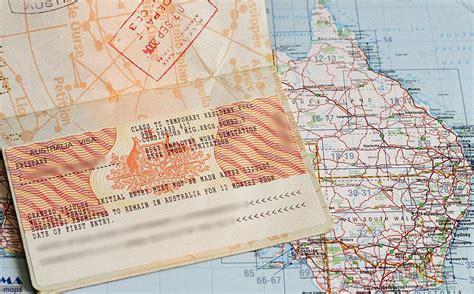 bureau d immigration australien le working visa le passeport pour une ée en