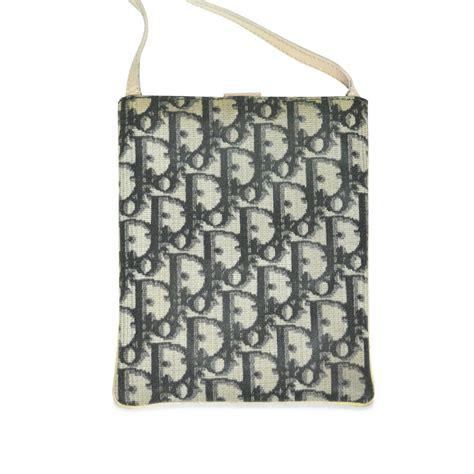 authentic  hand christian dior monogram sling bag