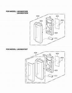 Controller Diagram  U0026 Parts List For Model Lmvm2075st Lg