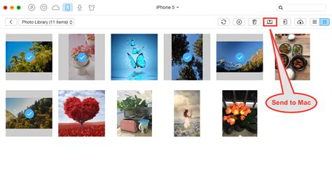 import photos from mac to iphone how to import photos from iphone to mac imobie guide