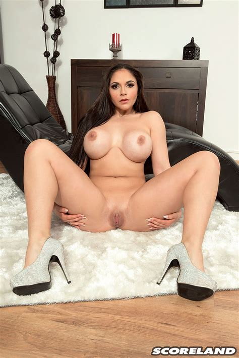 Busty Spanish Babe Alexandra Sivroskya Masturbates 2 Of 2