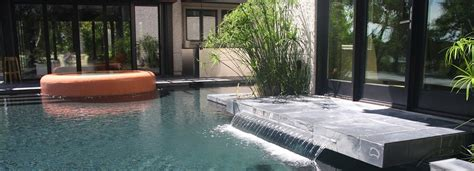 residential water features aqua blue pools