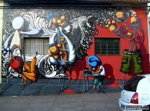 Graffiti Mural Street Art