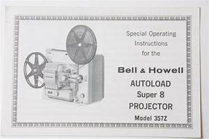 Bell Howell 357z Supplement Projector Instruction Manual