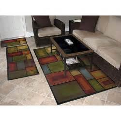 prism 3 piece rug set walmart com