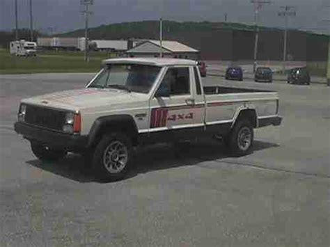 1986 jeep comanche interior buy used 1986 jeep comanche xls 4x4 long bed in red lion