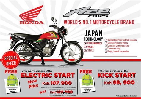 Honda Motorcycle Kenya Limited