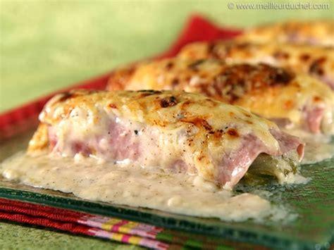 cuisiner endives au jambon endives au jambon fiche recette avec photos