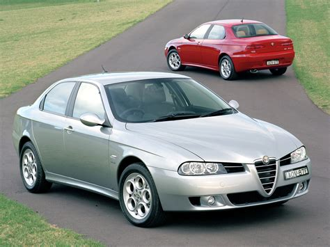 Alfa Romeo 156 2.5 V6 Au-spec Wallpapers