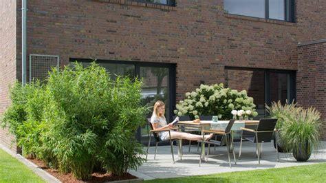 Sichtschutz Pflanzen Kleiner Garten by Sichtschutz Terrasse Nachher Franks Kleiner Garten