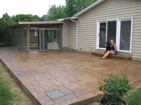 lifted gifted higher than the ceiling remix 100 concrete patio faux slate w stylish faux slate