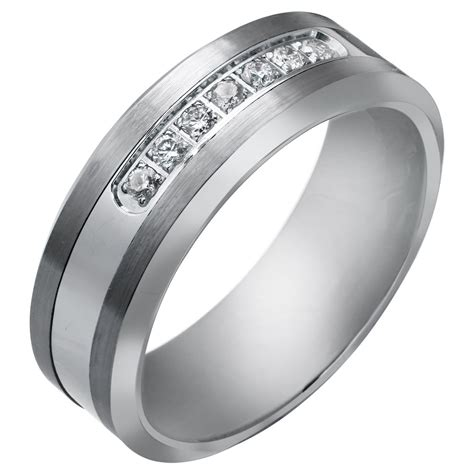 best selected white gold stony engagement wedding rings for mens best wedding products