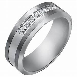 Tungsten wedding rings for men bling jewelry black for Tungsten wedding ring reviews