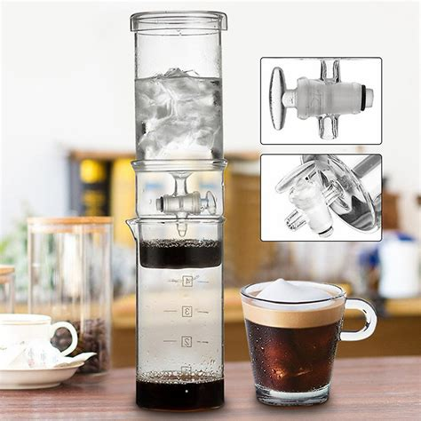 It features an airtight seal that will perfectly lock in freshness and favors for a long period. Cold Drip Coffee Maker - Coffee Addicts Unite