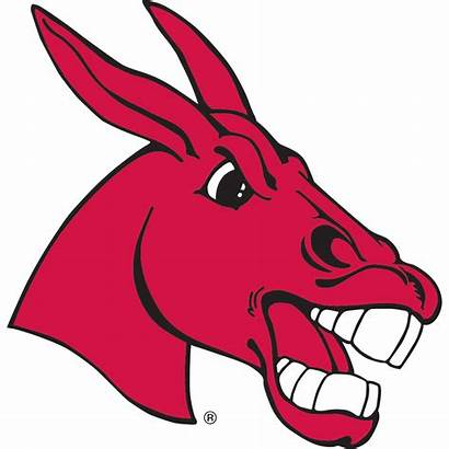 Mascot Mule Basketball Clipart Missouri Central Womens