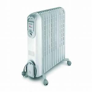 Chauffage Bain D Huile : delonghi vento 2500 watts radiateur bain d 39 huile ~ Farleysfitness.com Idées de Décoration
