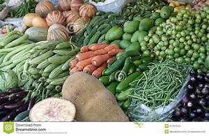 Indian Bazaar. Vegetables For Sale Stock Photo - Image of ...