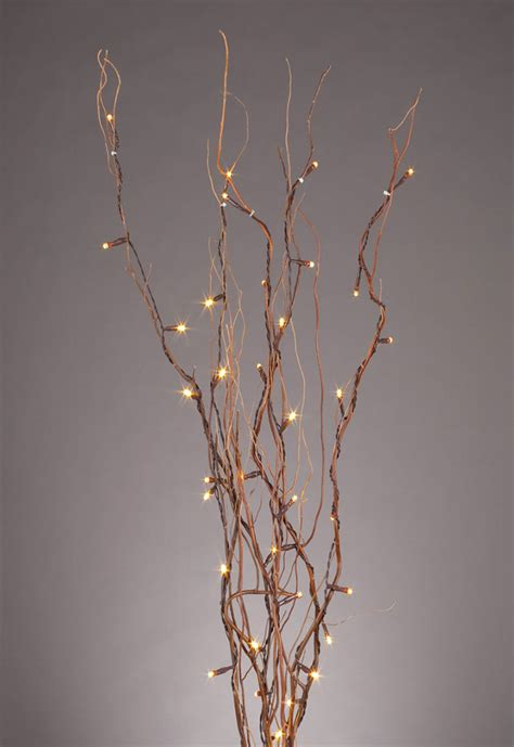 lighted led branches led lighted branches oogalights more than 1 000 string light bulbs