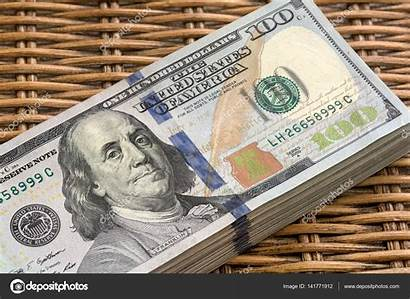 Usd Stack Dollars Notes Wicker Depositphotos Jpldesigns
