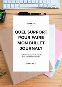 Quel Matelas Pour Quel Poids : quel support pour mon bullet journal ~ Mglfilm.com Idées de Décoration