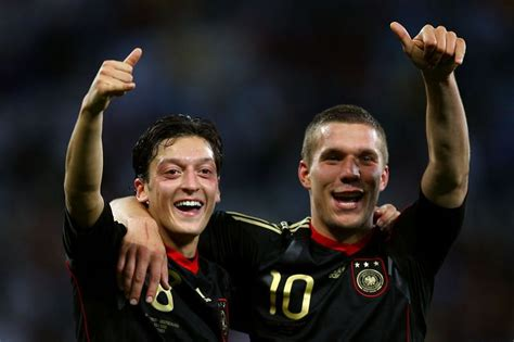 Lukas Podolski hits out at Arsenal over treatment of Mesut ...