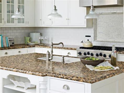 glass kitchen countertops hgtv kitchen countertop ideas pictures hgtv