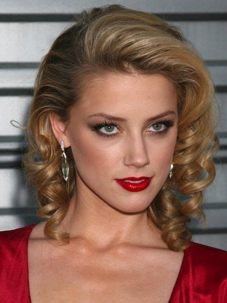 all one side loose retro curls with layers visit to see