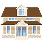 Transparent Clipart Clip Background Modern Cliparts Houses