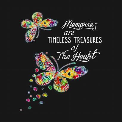 Treasures Timeless Memories Heart Tank Teepublic Butterfly