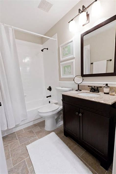 Simple Basement Bathroom Designs by 40 Brown Bathroom Tile Ideas And Pictures