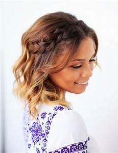 Tresse Cheveux Courts : les cheveux courts tress s la coiffure de l 39 t ~ Melissatoandfro.com Idées de Décoration